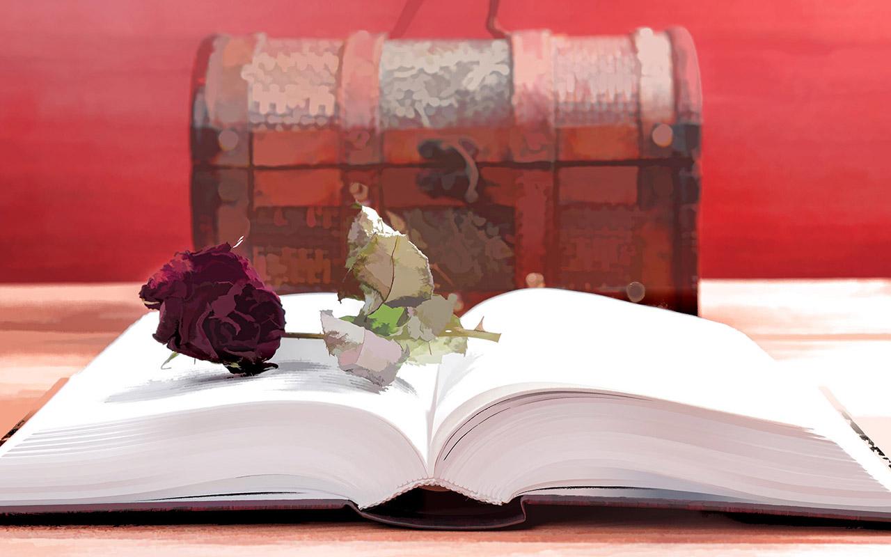 Книга и сундучок