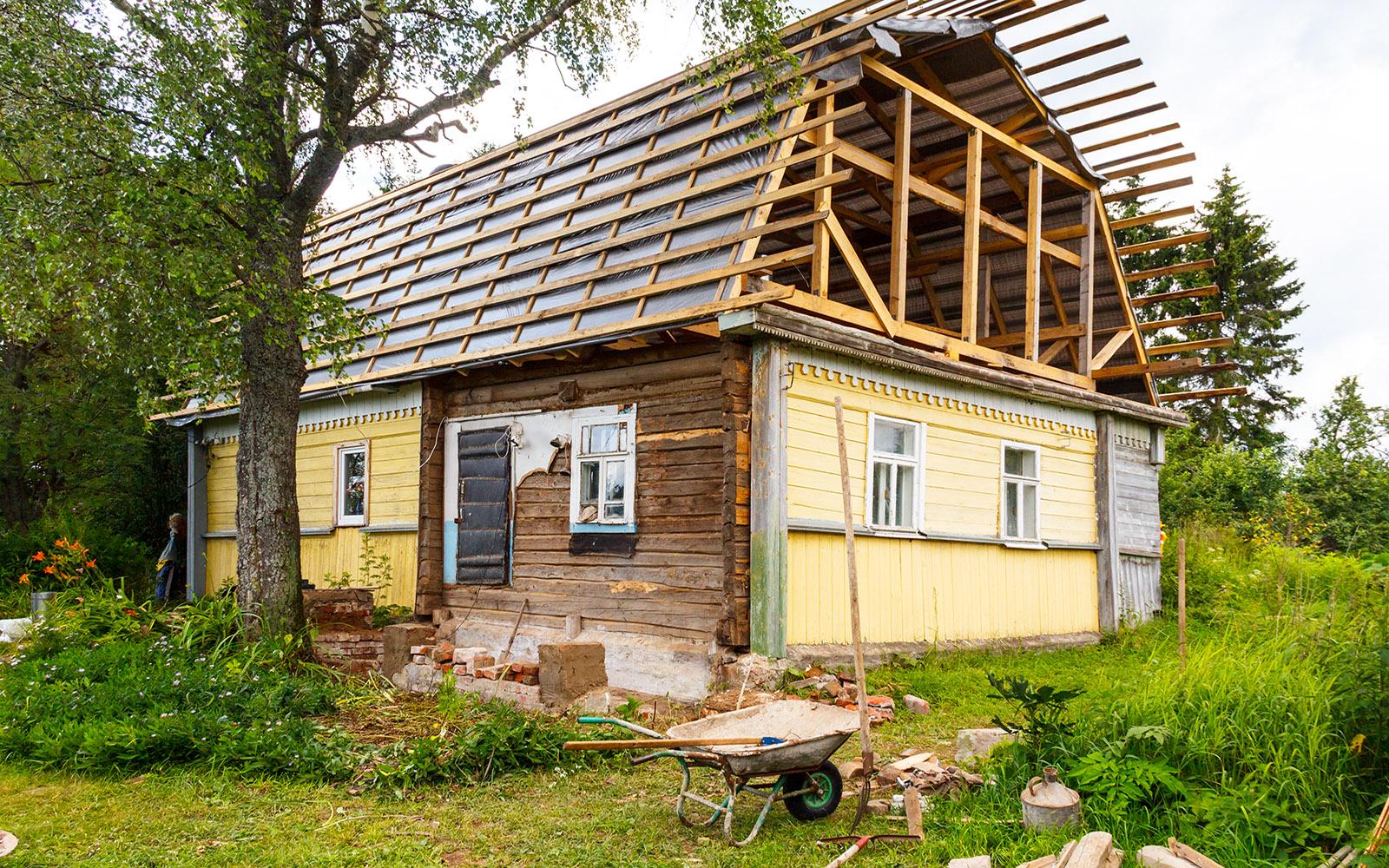 Опыт реконструкции крыши