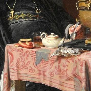 Чаепитие, фрагмент 1