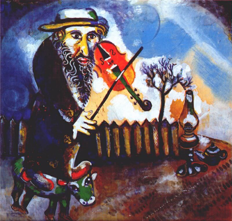 Марк Шагал «Скрипач»