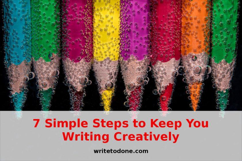 7 шагов для поддержания креативности